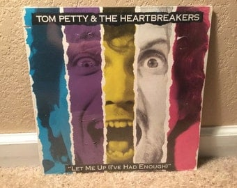 "Sealed Tom Petty & The Heartbreakers ""Let Me Up (I've had enough) LP Vinyl Record Canada"
