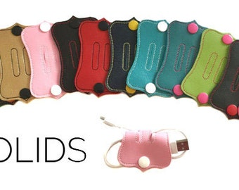 Cord Management - Cord Wrap - Organization - Cord Keeper - Cord Organizer - Cell Cord Holder - Power Cord Holder - Cord Keeper