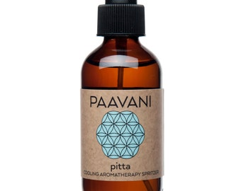 Pitta Ayurvedic Aromatherapy Spray/  Ayurveda / Floral Body Mist / Floral Room Spray /  Essential Oils Spray / Face Mist / Dosha