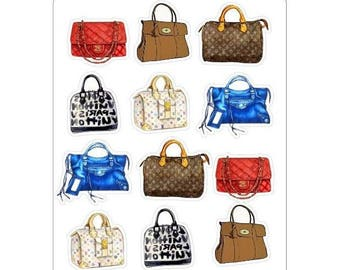 """LovedbyGaby stickers """"Bags or Perfume"""""""