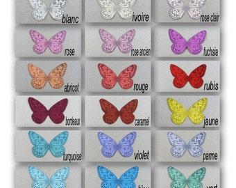 "Butterfly silk soft 5 cm ""Apolline"""