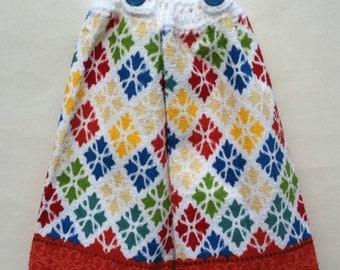 Crochet Towels, Kitchen Towels, Crochet Top Towels, Hanging Towels, Crochet Tea Towels, Kitchen Decor, Tea Towels, Crocheted, Dish Towels