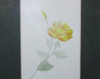 Original watercolor,Watercolor Painting,Floral Watercolor,Watercolor Flowers,Watercolor Art,Original Painting, #36