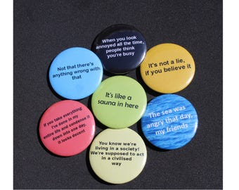 Seinfeld Pinback Buttons