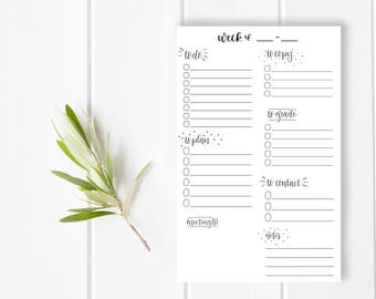 Teacher Notepad / Lesson Plan / School Planbook / To Do List / Checklist / Stationery / Appreciation Gift / Educator Education Present