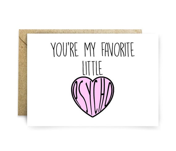 Valentines Day Card Cards For Her or Him Funky – Funky Valentines Cards