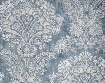 custom shower curtain hamilton denim blue shades of grey 72 x 84 108 long shower curtain