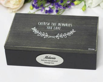 Personalised Trinket Jewel box - Vintage