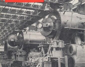 TRAINS Jan. 1957 The Magazine of Railroading, Scarce Vintage Train Railroad Railroads Magazine!