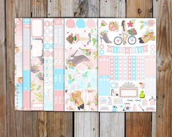 Spring Fashion Planner Sticker DELUXE KIT | Spring Planner Stickers Kit for use with Erin Condren Life Planner