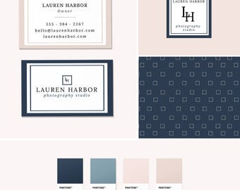 Pre-Made Branding Kit - Logo Design - Business Cards - Pattern Design