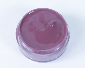 Vegan Lip Gloss : CALISTO Lip Catnip. Grey Mauve Lip Gloss. Natural lip gloss. Grey lip gloss.Vegan friendly. Lip gloss. Natural makeup.