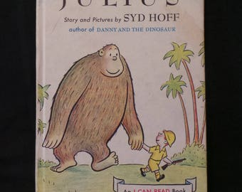 Vintage 1959 Julius The Giant Ape Syd Hoff An I Cad Read Children's Book