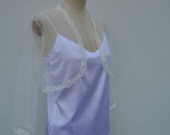Clearance 30% Bolero ivory tulle lace, ivory burp, ivory wedding bolero