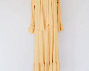 VTG Chemise and Matching Housecoat Set by Lilli Ann of Beverly Hills