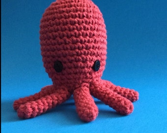 Crochet Octopus Amigurumi, Stuffed Toy, Octopus Plush, Octopus Plushie, Stuffed Animal, Octopus Toy, Stuffed Octopus, Baby Shower Gift