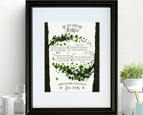 Christmas Gifts For Mother-In-Law Unique Art Print Wall Decor