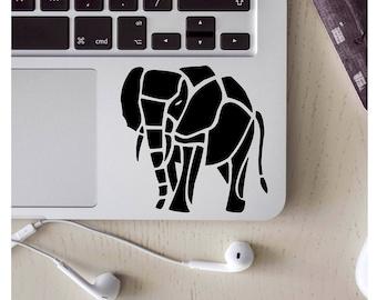 laptop skin, laptop sticker, laptop decal, computer decal, elephant decal, coffee mug decal, vinyl decal, vinyl sticker, tribal elephant