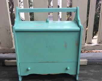 Vintage Shabby Chic Sewing/Keepsake Box