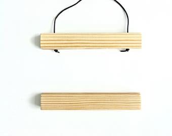 Magnetic Print Holder  |  Modern Minimal Wooden Hanging Frame