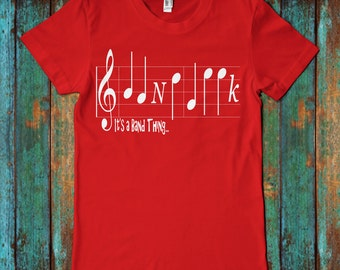 Band Geek Super Soft Graphic T-Shirt 100% Combed Ringspun Cotton