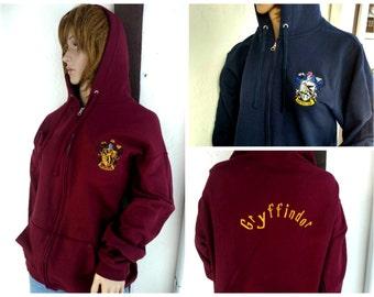 Custom Gryffindor Harry Potter inspired hoodie sweatshirt