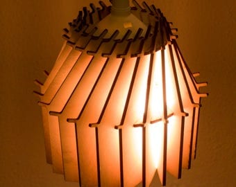 Pendant Light made in Holland by lasercutter
