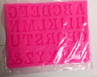 Alphabet numbers mold