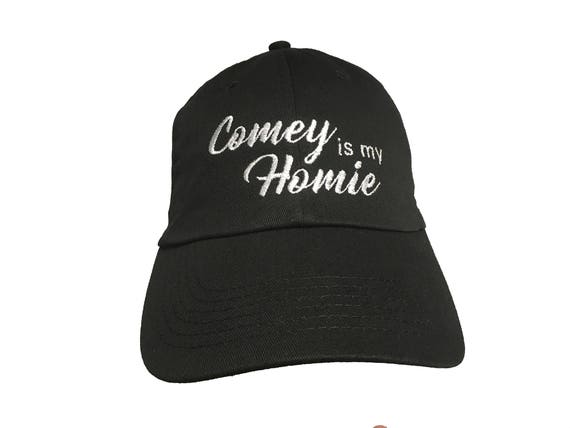 Comey is my Homie - Embroidered Ball Cap (Available in Colors too)