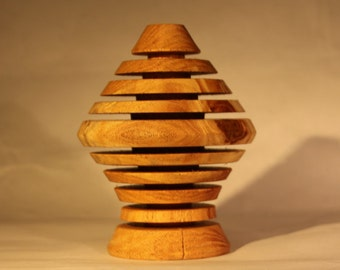 Wooden Tree Centerpiece