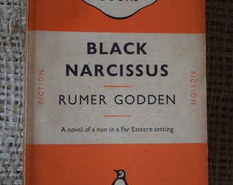 Black Narcissus. Rumer Godden. A Vintage Orange Penguin Book 777. 1950