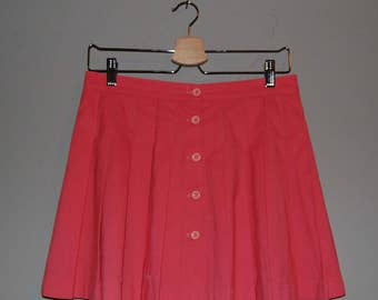 Vintage Pink Tennis Skirt