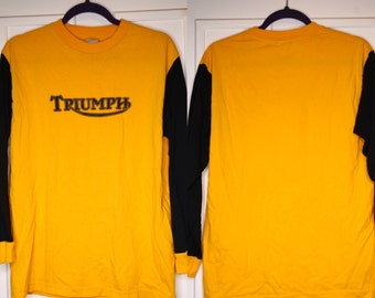 Vintage Triumph Long sleeve