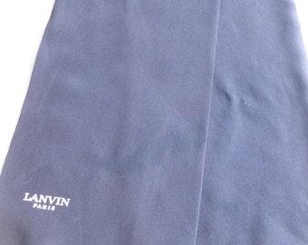 Scarf silk Lanvin man