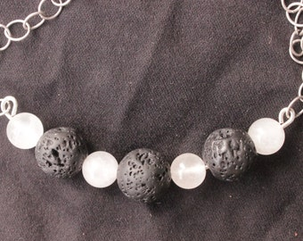 Silver Dawn Necklace