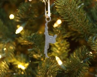 Karate Kid Christmas Ornament - Black Belt Karate - Karate Ornament - Christmas Gift