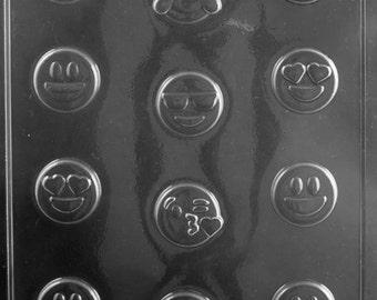 Bite Sized Emoji Choclate Candy Mold
