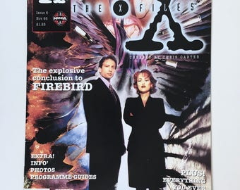 X-Files Magazine, Bonus Book of the Unexplained, Mulder, Scully, Issue 6, Episode Guide, England, Truth is Out There, Mint Condition