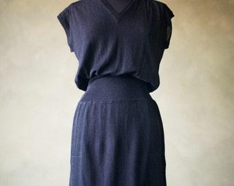 Vintage Missoni for Bullocks Little Black Dress!
