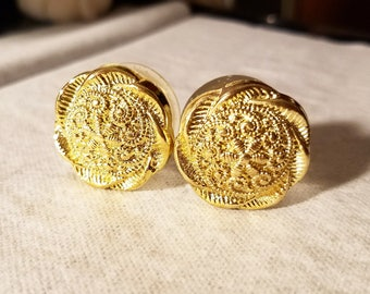 "Ornate 7/8"" Plugs"
