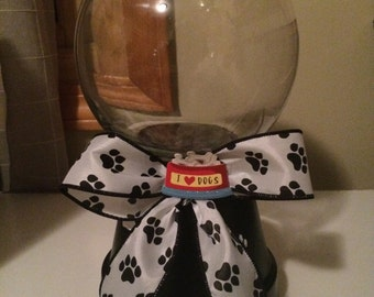 Dog Treat Jar With Removable Lid