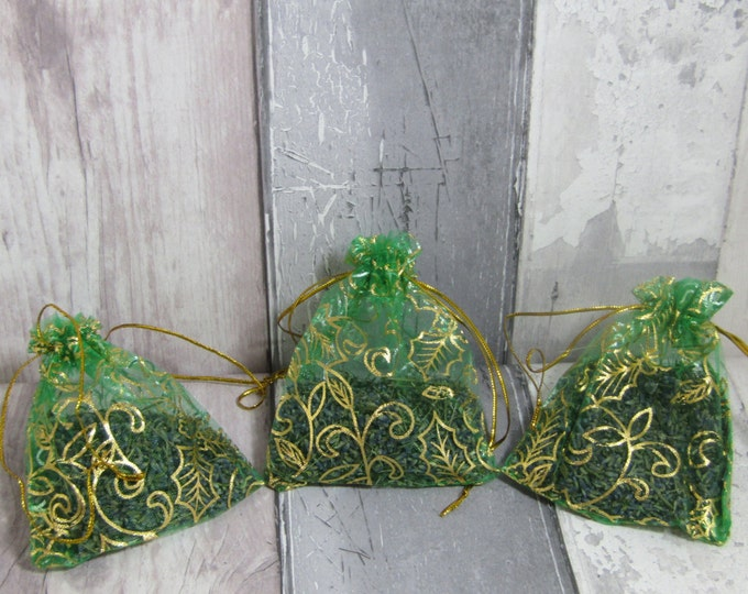 Lavender Bag, Lavender Sachet, Dried Lavender, Lavender Pouch, Scented Sachets, Housewarming Gift, Home Decor, Organic Lavender, Small Gift