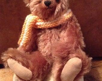 """Bruce, a 7""""limited edition mohair bear"""