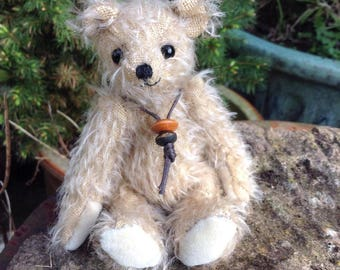 """Barley, a 5"""" limited edition hand made collector's bear"""