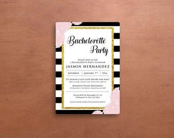 Bachlorette Party Invite