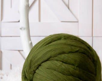 Super bulky yarn, Chunky yarn, Merino wool yarn, Roving, Wool roving, Giant wool, Giant yarn, Bulky yarn, Big yarn, Extreme knitting, Yarn