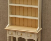 112 Scale Dolls House kitchen dresser  Choice of 15 colours painted to order