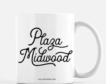 Plaza Midwood Charlotte Coffee Mug | Charlotte, NC Neighborhood Coffee Mug