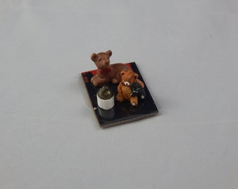 Vintage Ceramic Miniature Animals