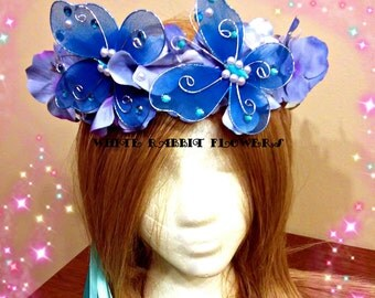 Butterfly Crown Fits All Ages Over Eight Ready To Ship